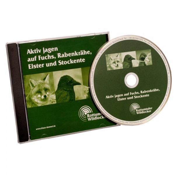 Audio CD: Aktiv jagen auf Fuchs, Rabenkrähe, Elster und Stockente