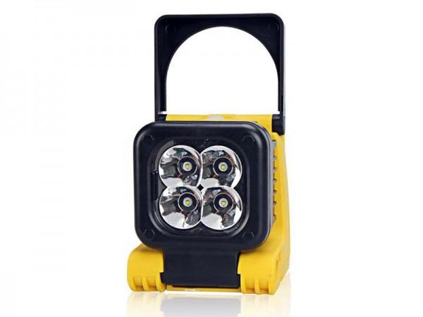 Mobiler LED Strahler 12 Watt mit Akku 1