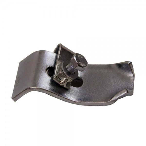 Gehörnklammer aus Metall für Rotwild und Damwild