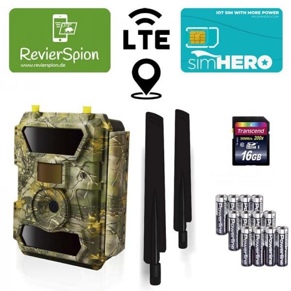 RevierSpion LTE Funk-Wildkamera Startpaket 1