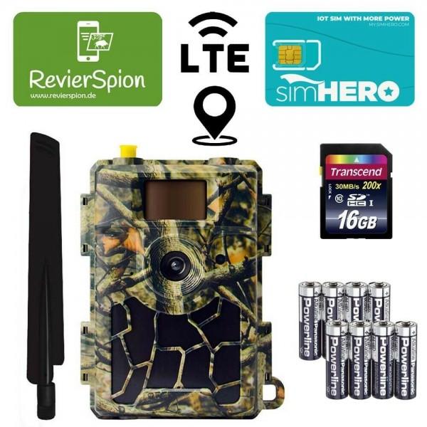 RevierSpion LTE Mini Funk-Wildkamera Startpaket 1