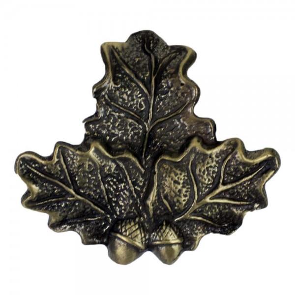 Eichenlaubabdeckung für Keilerwaffen bronzefarben 2