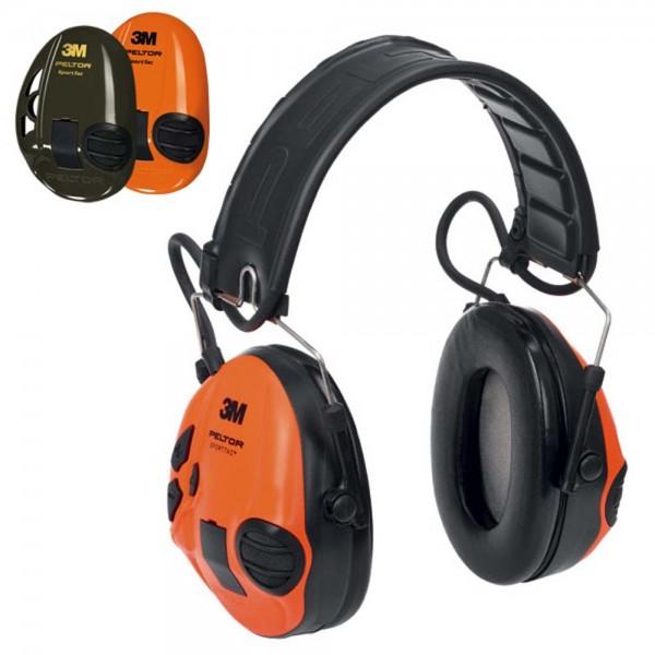 Peltor SportTac Gehörschutz mit Wechselschalen
