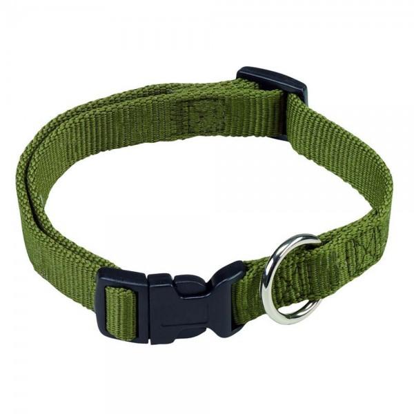 Farm-Land Halsband mit Schnellverschluss Oliv