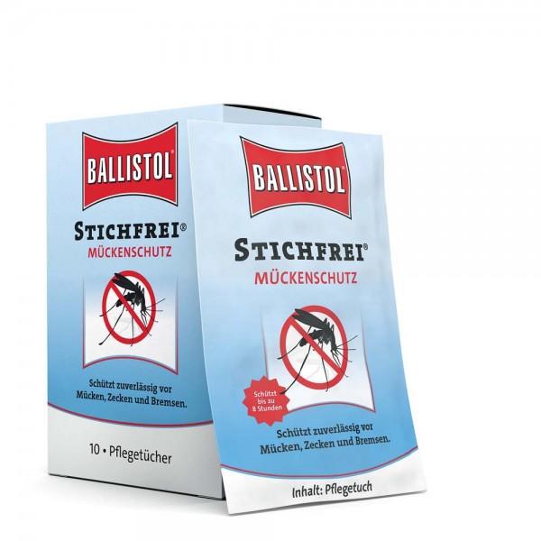 Ballistol Stichfrei Pflegetücher