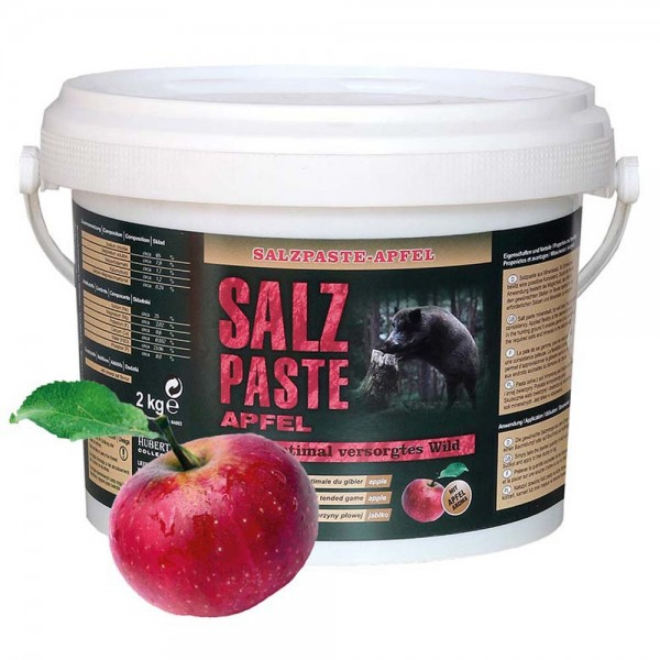 Salzpaste Apfel im 2,5 kg Eimer