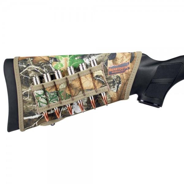 Beartooth Schaftüberzug mit Patronenhalter Kugel Camo Realtree Edge 1