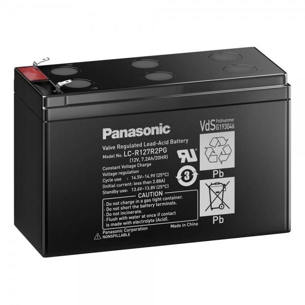 Panasonic LC-R127R2PG1 Bleiakku 12 V Foto 1