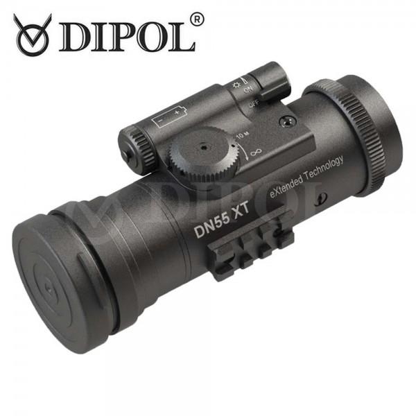DIPOL DN55 XT Nachtsichtgerät mit 2+ Röhre in Grün oder S/W 1