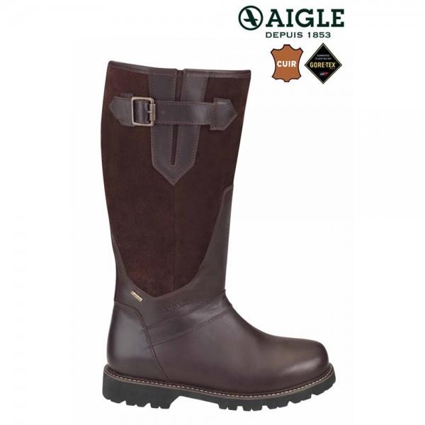 Aigle Parfield Fur GTX Lederstiefel mit Schaffell