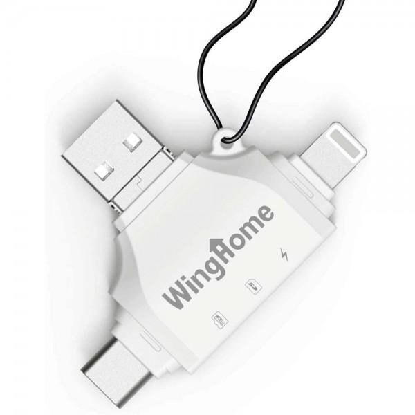 WingHome 4-in-1 SD-Kartenleser 1