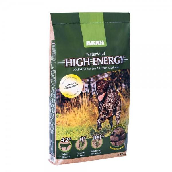 NaturVital High Energy Hundefutter für aktive Jagdhunde 12 kg