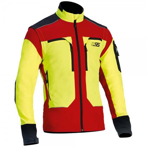 PSS X-treme Vario Funktionsjacke in Gelb/Rot 1