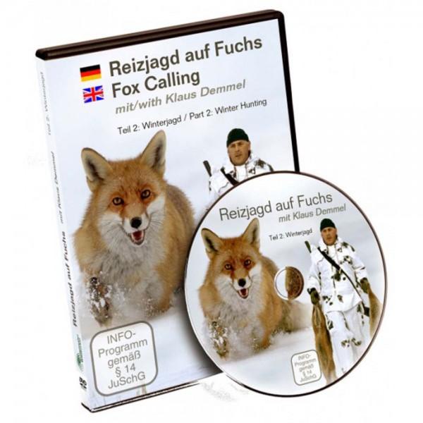 DVD: Reizjagd auf Fuchs mit Klaus Demmel Teil 2