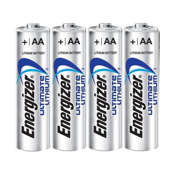 Energizer Ultimate Lithium AA Batterien 4 Stück Foto 1