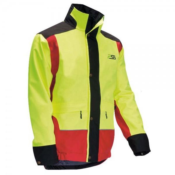 PSS X-treme Rain Regenjacke in Gelb/Rot 1