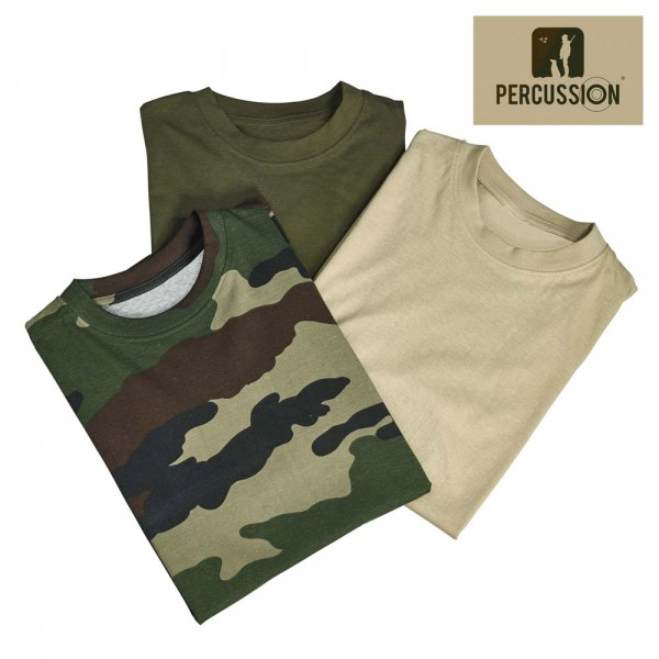Percussion T-Shirt 3er-Pack