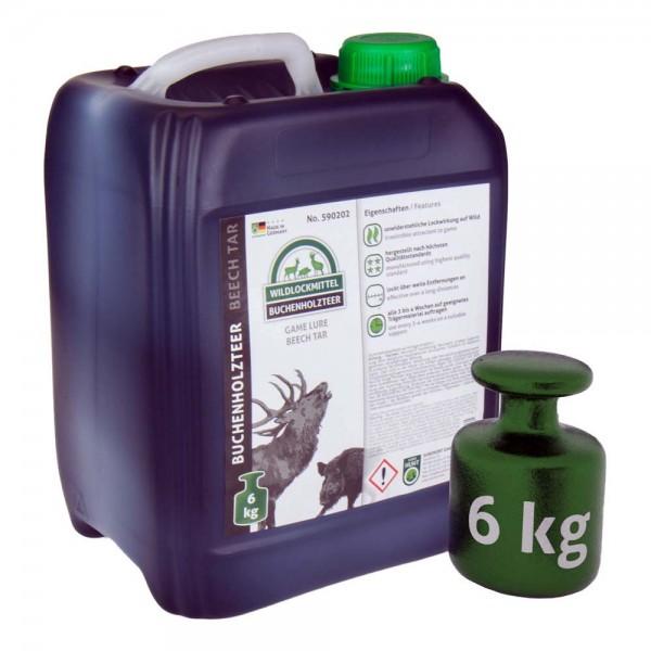 Buchenholzteer in Reinform 6 kg