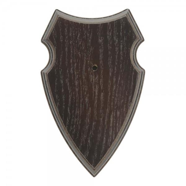 Gehörnbrettchen Rehbock Eiche Typ 3 dunkel