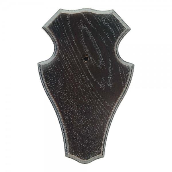 Gehörnbrettchen Rehbock Eiche Typ 1 dunkel