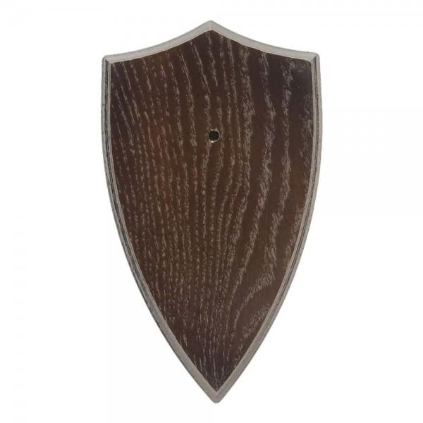 Gehörnbrettchen Rehbock Eiche Typ 4 dunkel