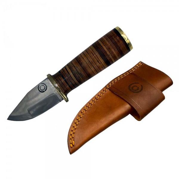 Swevest No. 1 Leder Jagdmesser 1