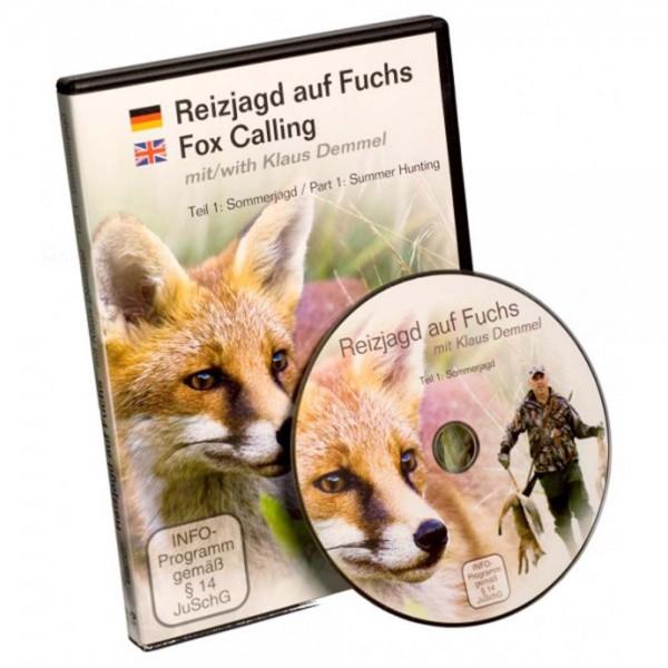 DVD: Reizjagd auf Fuchs mit Klaus Demmel Teil 1