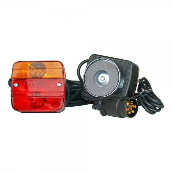 Beleuchtungsset für Heckträger mit Magnet