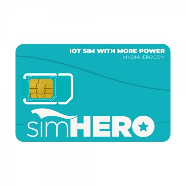 simHERO Multinetzwerk Prepaid SIM-Karte