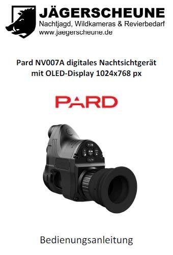 pard-nv007a-bedienungsanleitung