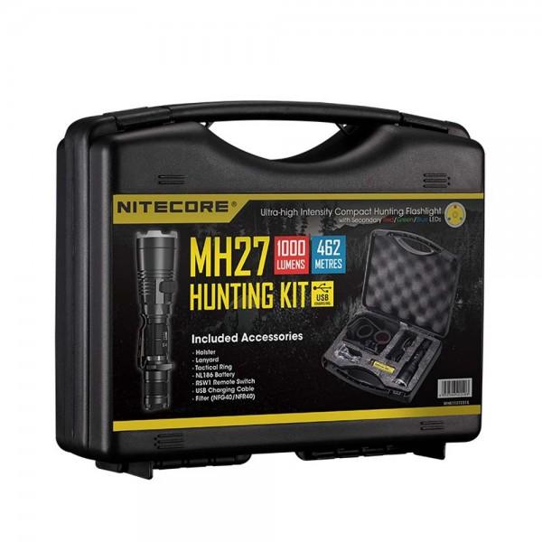 NiteCore MH27 Jagdset 1