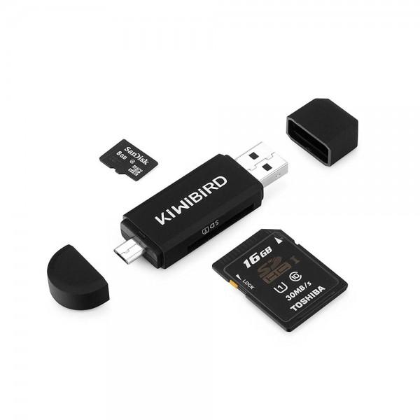 SD Kartenleser für USB und Micro USB Foto 1